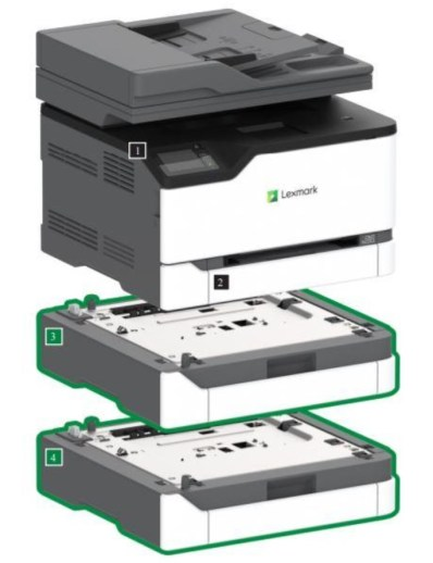 Promising Input Capacity with Expandable Tray