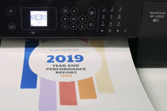 Epson WorkForce WF-2830 Output Quality