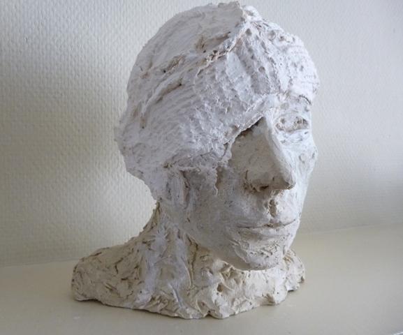 Multi technique (terre cuite- plâtre- tissus)