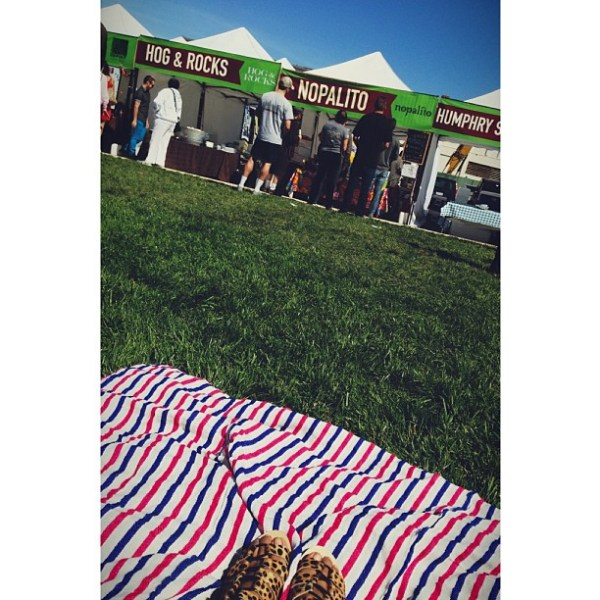 hog + rocks oysters, rosamunde sausages, wing wings fried chicken, nopalito popsicles, sunshine, hiphop, picnics & the boys that i love with all my heart.