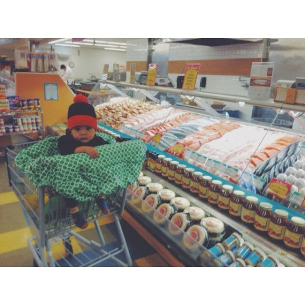 seafood shopping for our annual frutti di mare NYE feast!
