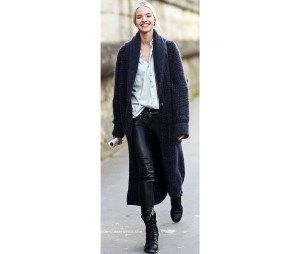 Sylvie in the Sky // Style Scout // The Maxi Cardigan // Sweater Trend