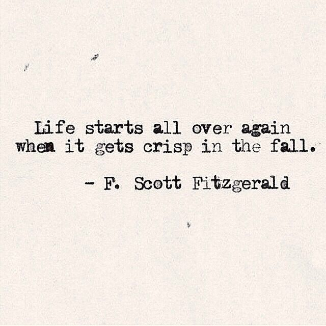 autumn fall favorites sylvie in the sky f scott fitzgerald fall quote
