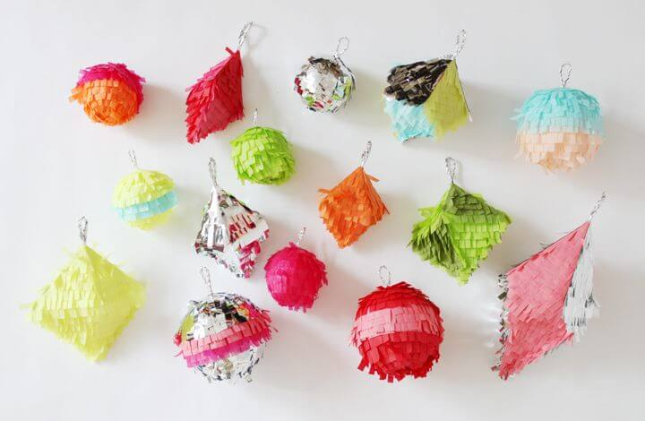 Sylvie in the Sky - Home - Christmas - Holoiday Ornament Inspiration // confetti system ornaments