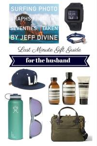 sylvie in the sky // last minute holiday gift guide for husbands