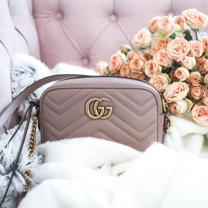 THE GIVEAWAY Spring It Bag: Gucci GG Marmont Matelassé Mini Bag - GG Marmont Matelassé mini bag giveaway featured by popular San Francisco style blogger, Sylvie in The Sky