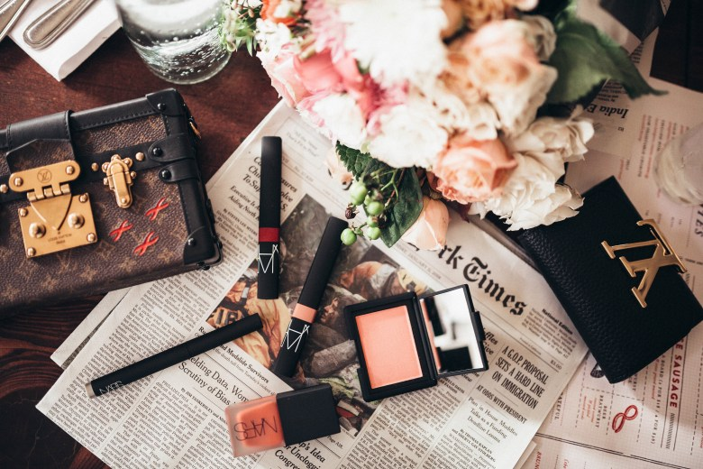 SPRING PINK MAKEUP BY NARS featured by popular San Francisco beauty blogger, Sylvie in The Sky