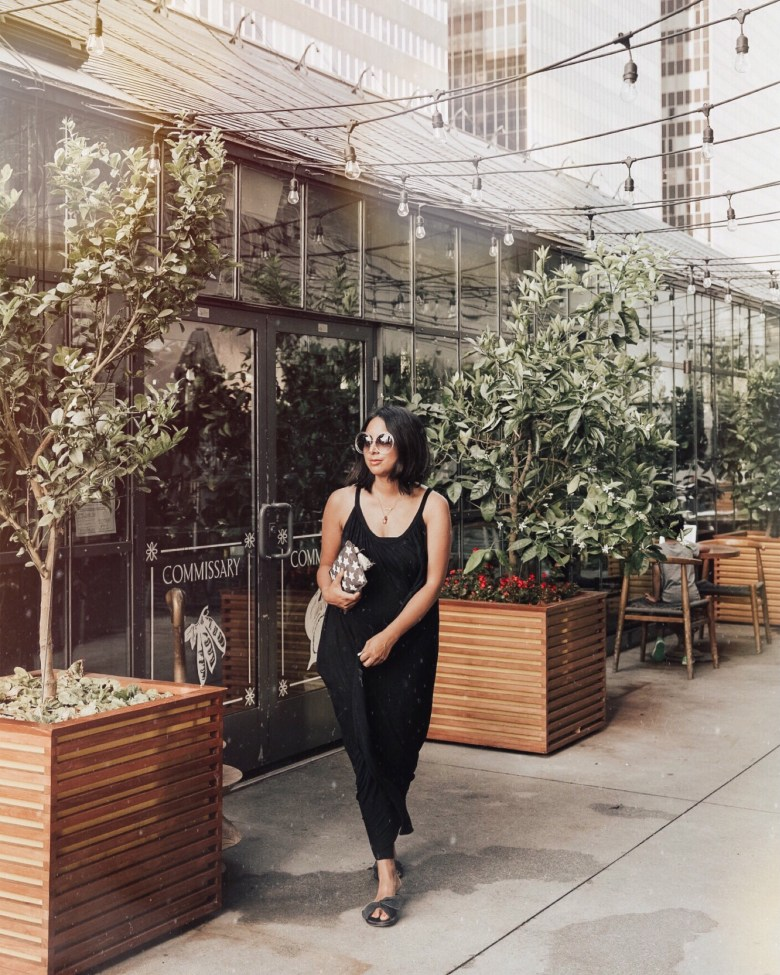 SHOP: BEST BLACK MAXI DRESSES UNDER $100 featured by popular San Francisco fashion blogger Sylvie In The Sky