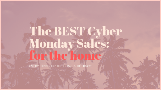 Best Cyber Monday Home Sales Under $100 | SHOP: BEST CYBER MONDAY SHOPPING DEALS FOR YOUR HOME featured by top San Francisco lifestyle blogger Sylvie in the Sky