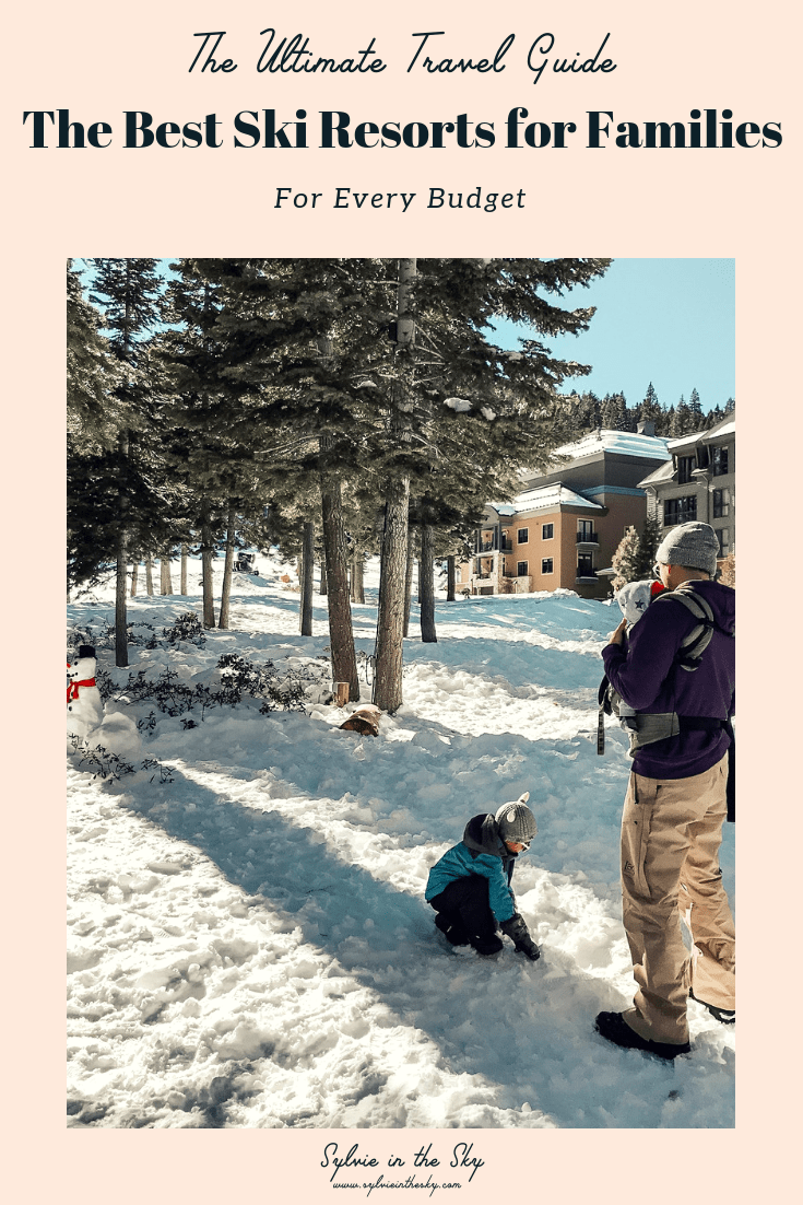 Best Ski Resorts for Families featured by top US life and style blogger Sylvie in the Sky