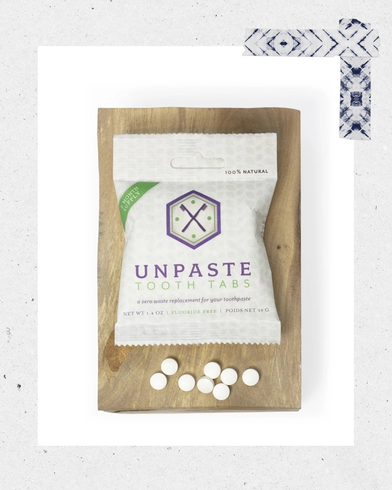 Top 10 Best Toothpaste Tablets featured by top San Diego healthy lifestyle blogger, Sylvie in the Sky: unpaste