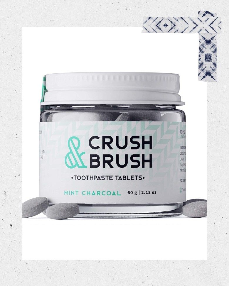 Top 10 Best Toothpaste Tablets featured by top San Diego healthy lifestyle blogger, Sylvie in the Sky: crush & brush