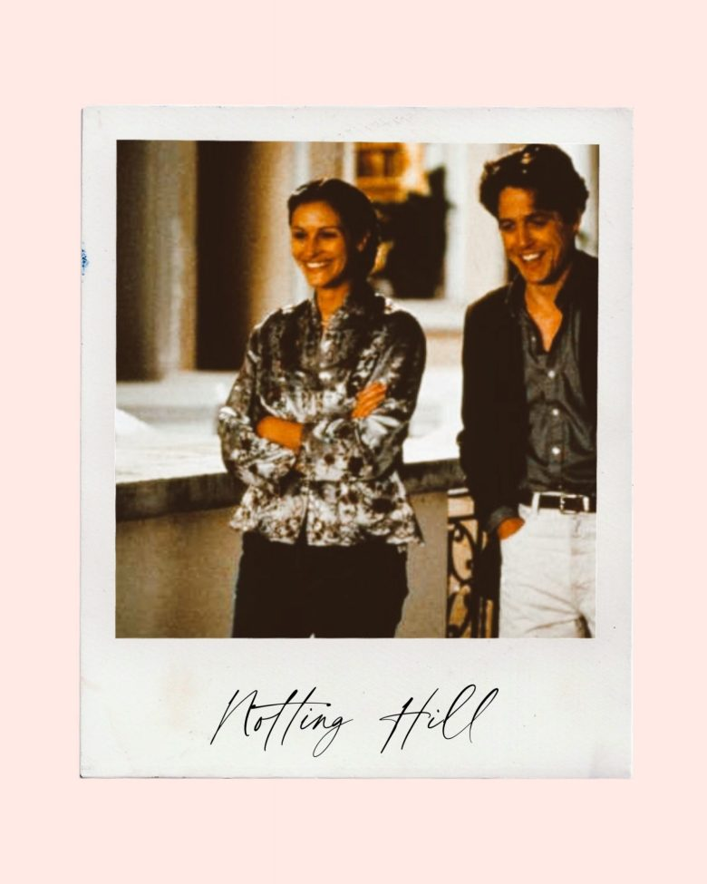 Valentine's Day Movies by popular San Francisco lifestyle blog, Sylvie in the Sky: image of Notting Hill movie still.