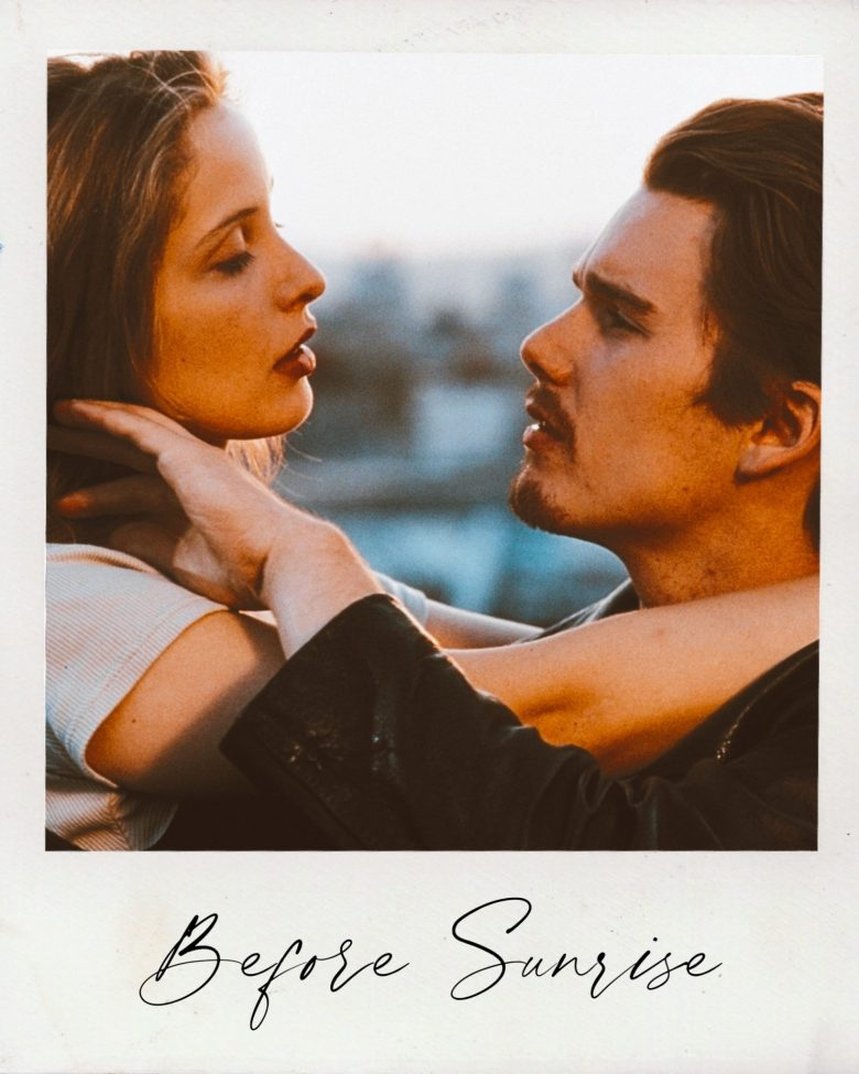 Valentine's Day Movies by popular San Francisco lifestyle blog, Sylvie in the Sky: image of Before Sunrise movie still.