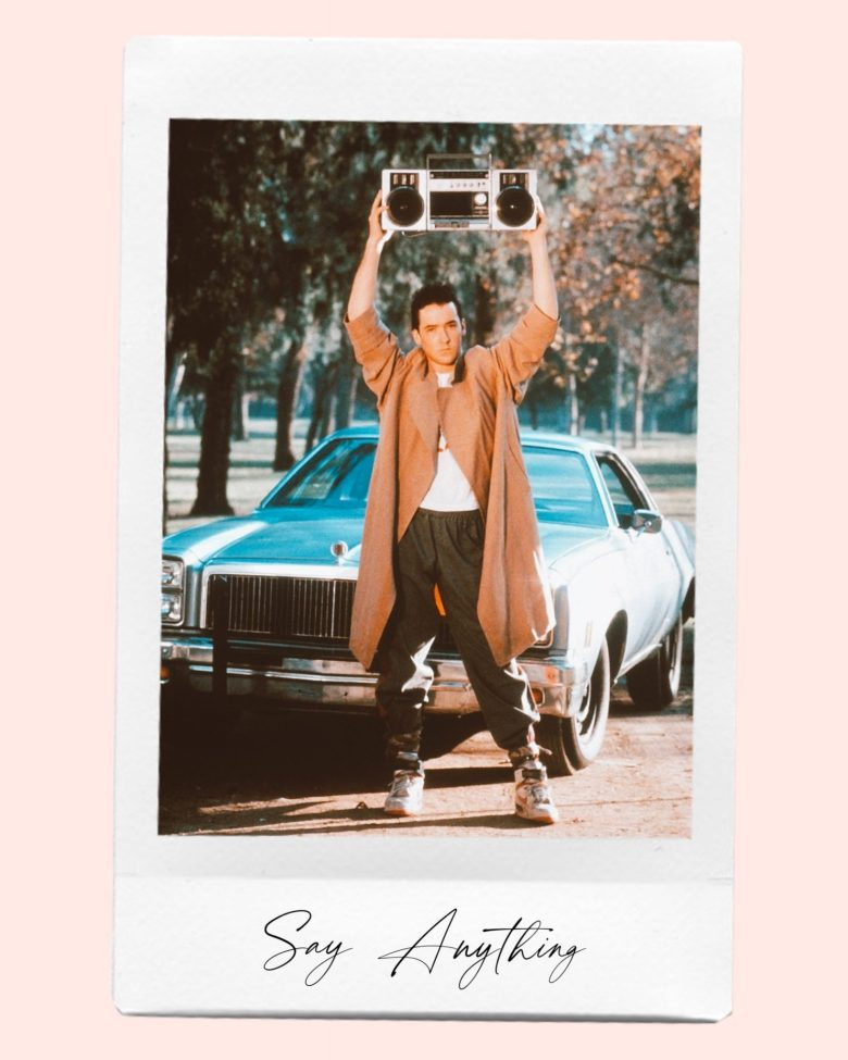 Valentine's Day Movies by popular San Francisco lifestyle blog, Sylvie in the Sky: image of Say Anything movie poster.