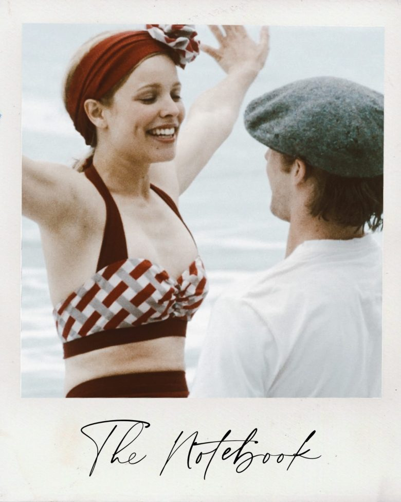 Valentine's Day Movies by popular San Francisco lifestyle blog, Sylvie in the Sky: image of The Notebook movie still.