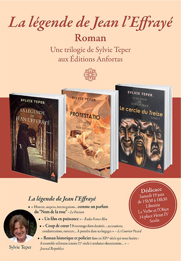 dédicace à Senlis ( Oise), à la librairie le Verbe et l'Objet