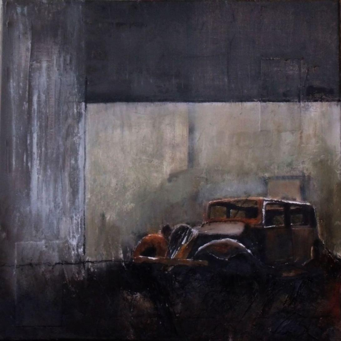 Peinture Thouron. Carcasse 4