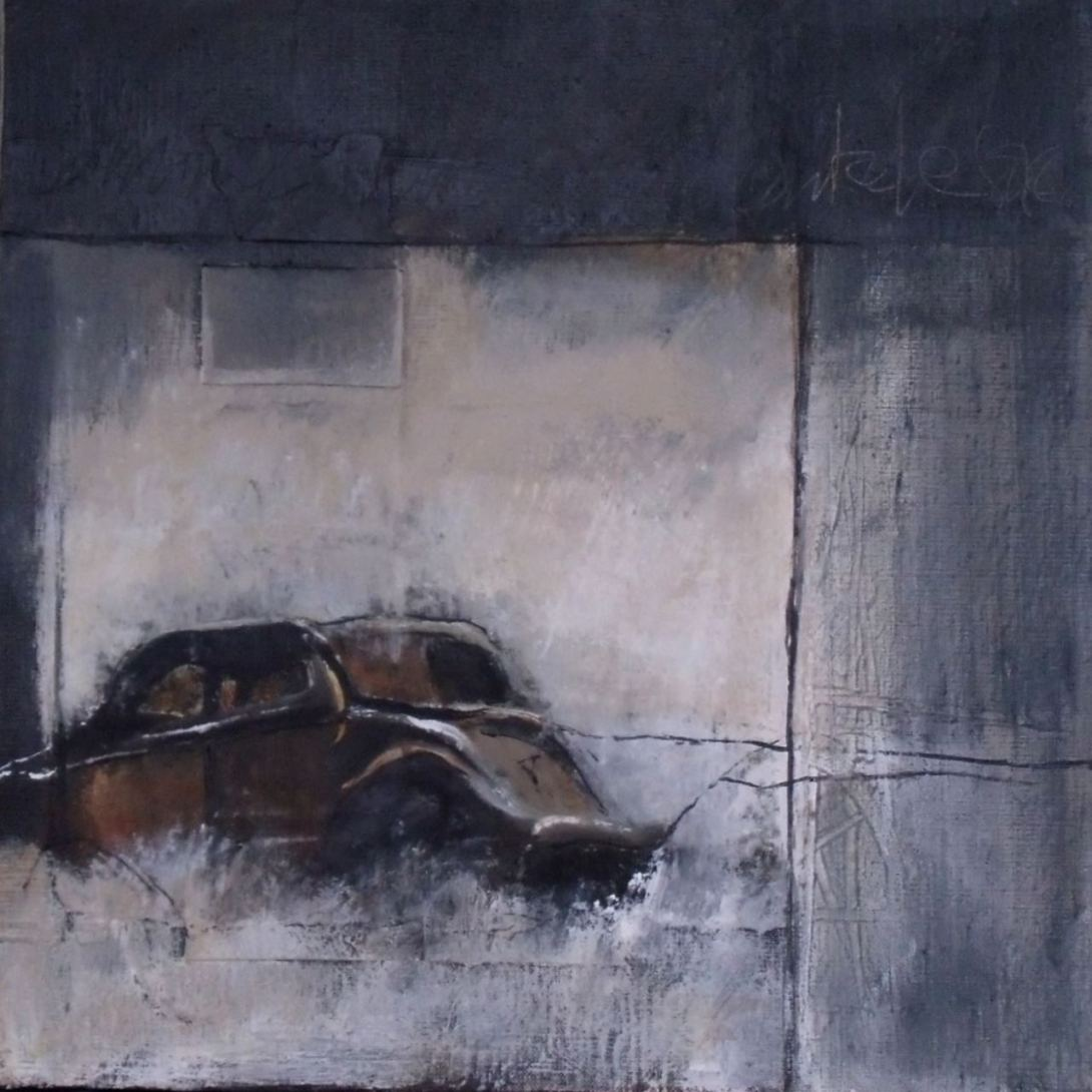 peinture Thouron Carcasse 2