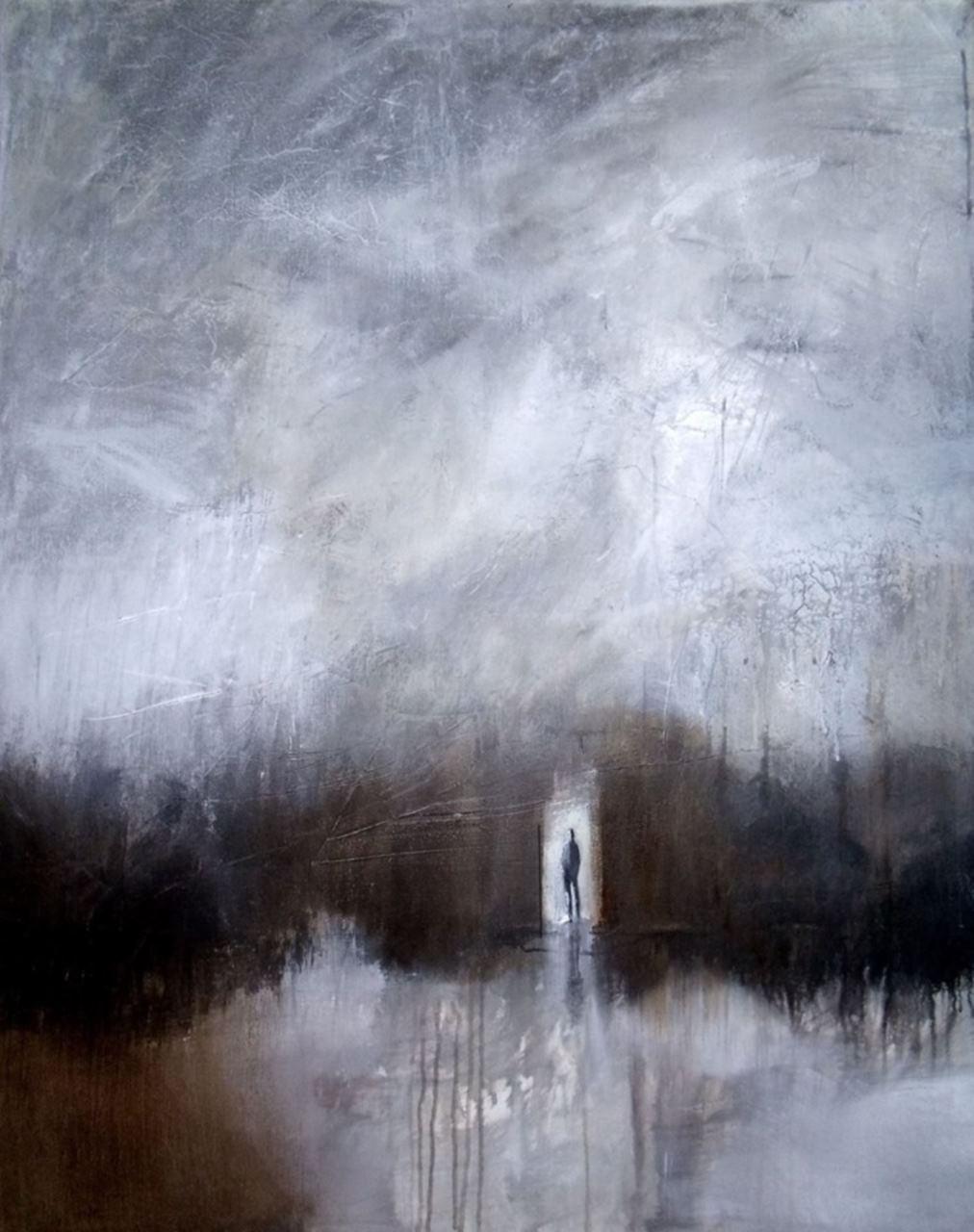 peinture thouron l'attente correspondances