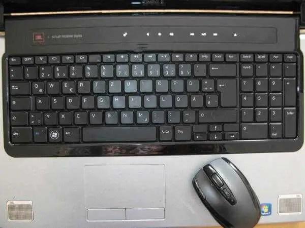 Dell Studio 1745 Notebooktastatur