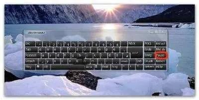 Virtuelle Tastatur