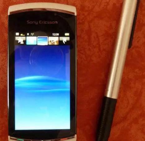 Mein neues Handy Sony Vivaz Pro