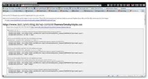 Zu ändernde CSS-Codes