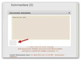 Falsche Button-Anzeige im Editierfenster mit Javascript
