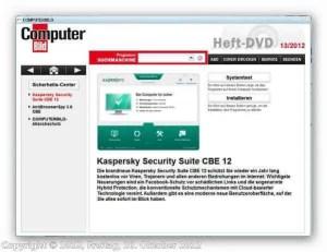 Kaspersky Programm auf CD von Computerbild