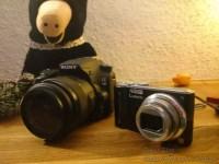 Kleinbild- und Spiegelreflexkamera