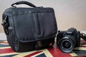 Kleine Fototasche für die Spaziergänge
