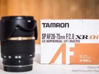 Tamron 28-75 für Sony A-Mount