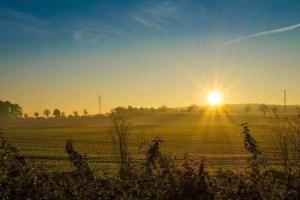 Sonnenaufgang in Iserlohn-Sümmern
