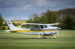 Bei der Landung