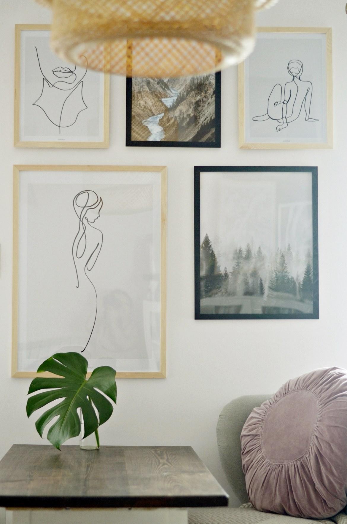 domowa galeria obrazów