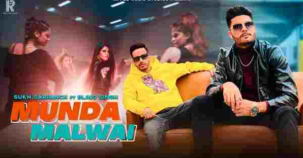 Munda Malwai Lyrics Sukh Sarpanch