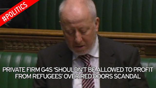 Andy McDonaldMP when G4S subcontractor painted asylum tenants' doors red, marking them out for racist attacks