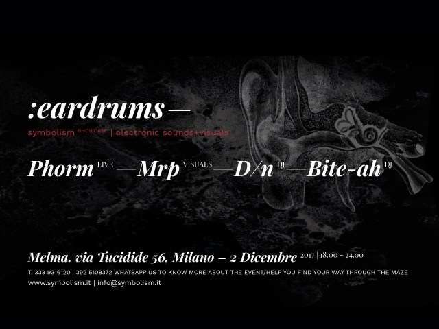 symbolism.it eardrums milano
