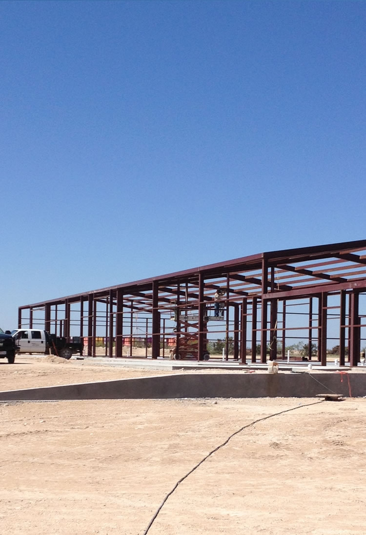 Metal Building Construction - San Angelo, TX.
