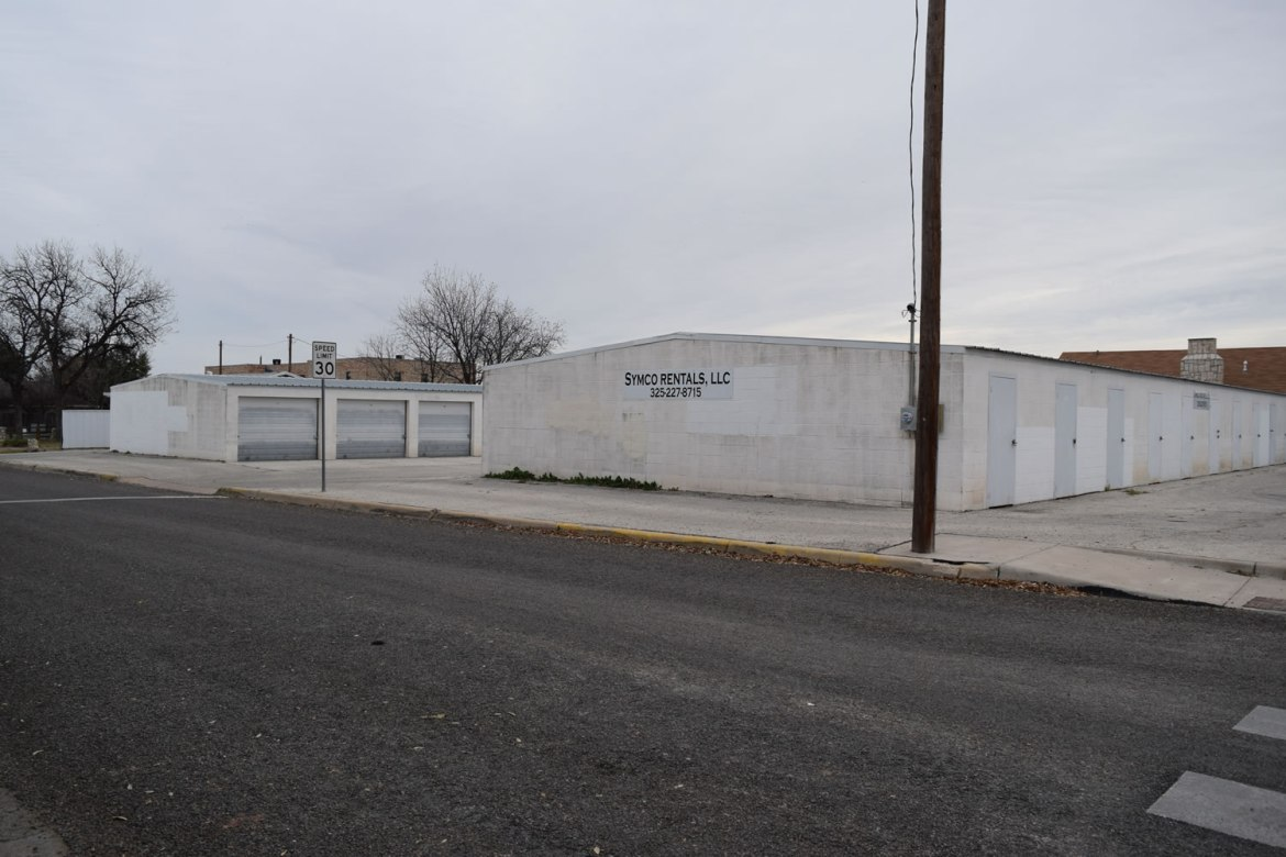 Storage Units - San Angelo TX - 122 Millspaugh Street