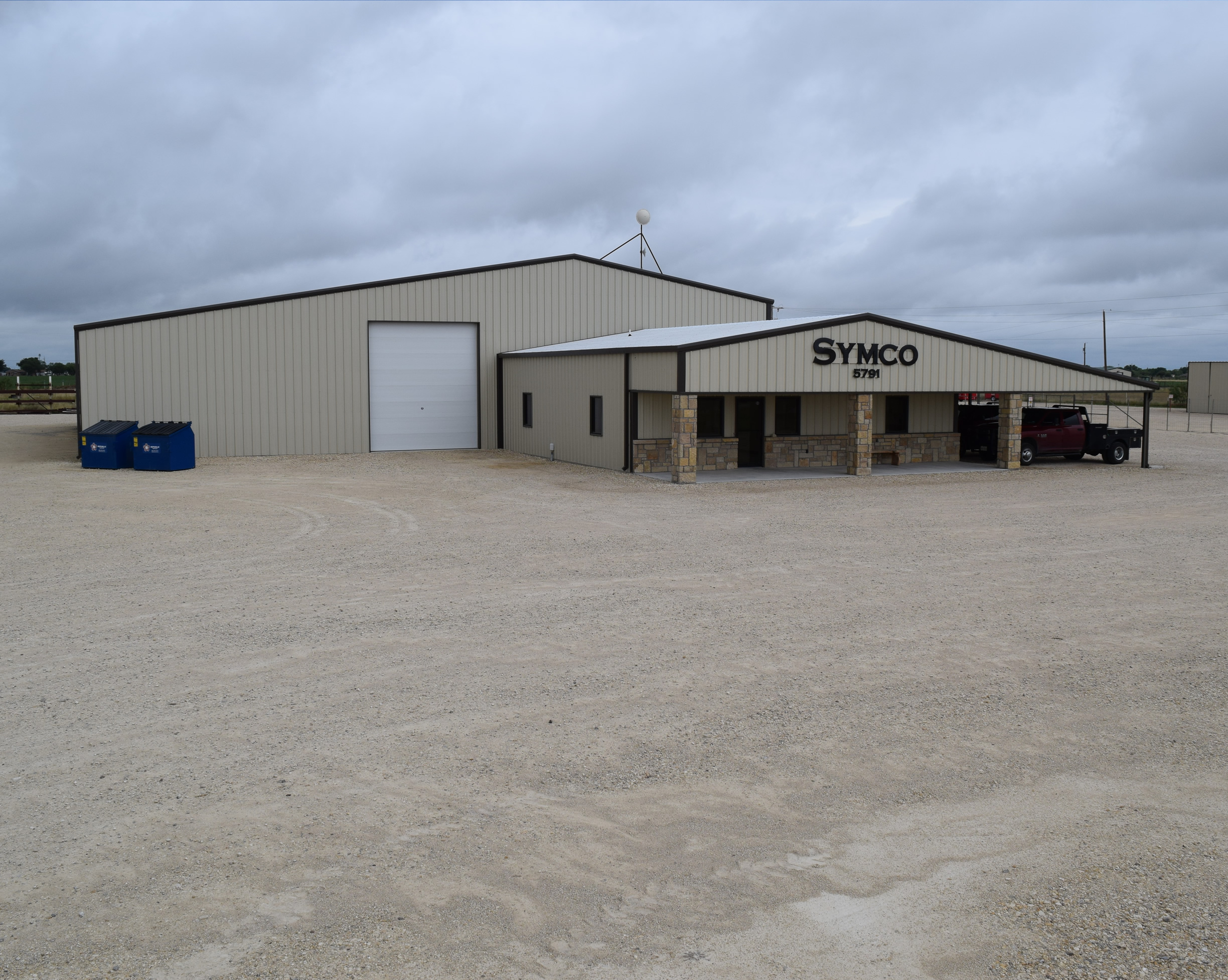 Metal buildings symco structural serving san angelo for Metal houses texas
