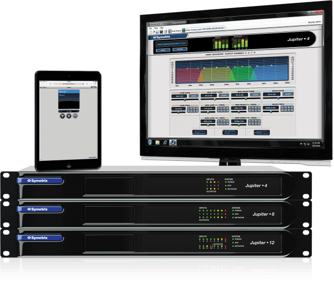 Symetrix Jupiter App Based DSPs