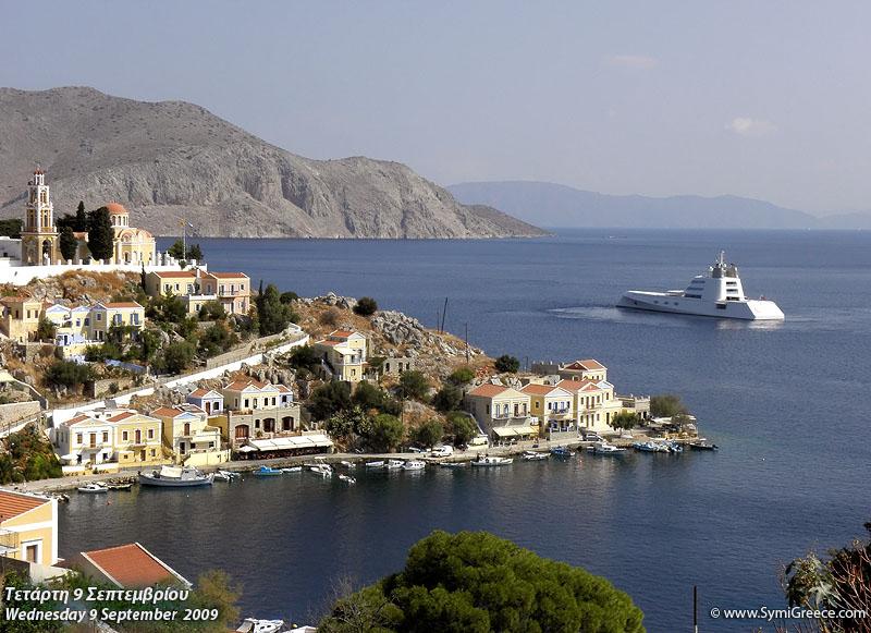 Symi Superyacht A Symi Greece Island Guide