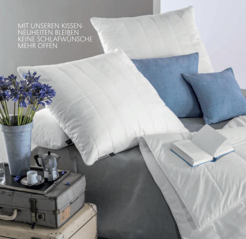 Centa Star Messezeitschrift 2015 Innseite Bett Lavendel