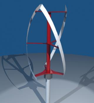 Savonius Vertical Axis Wind Turbine