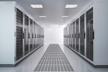 White Server Room