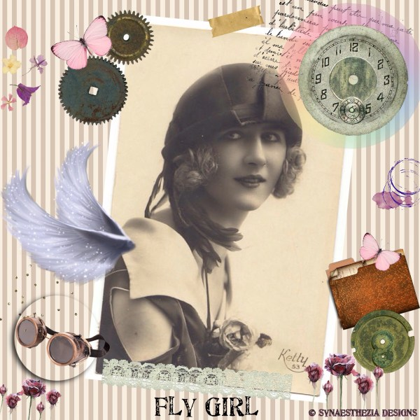 Steampunk Fly Girl