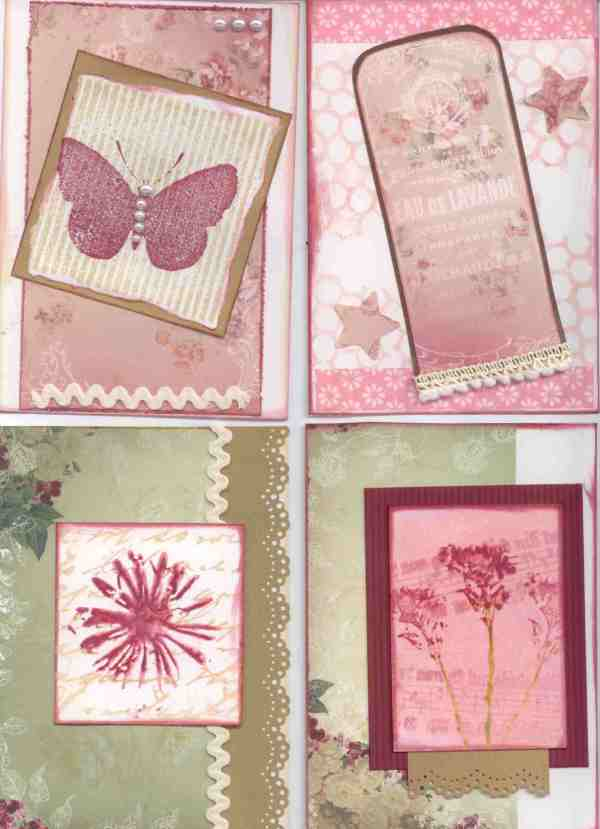 Card making frenzy – Day 1