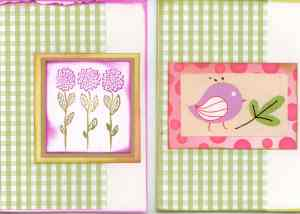 Cardmaking frenzy day 1 - Sweet wishes papers